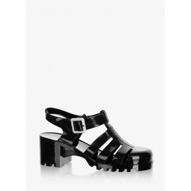 Sandały Buble Jelly Black Sandals