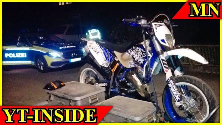 Wegen YT-Videos Motorrad u Datenträger sichergestellt - Verfahren eingel...