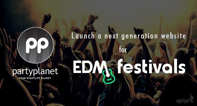 How to launch a next generation website for electronic dance music festivals?  To know more: http://blogs.agriya.com/2014/11/14/how-to-launch-a-website-for-edm-festivals/
