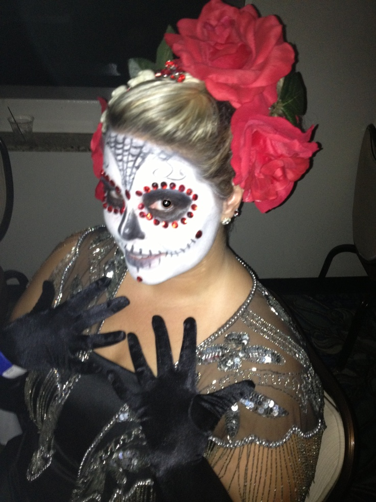 Awe Inspiring 1000 Images About Day Of The Dead On Pinterest Halloween Ideas Short Hairstyles For Black Women Fulllsitofus