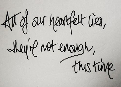 Heartfelt Lies - Ron Pope
