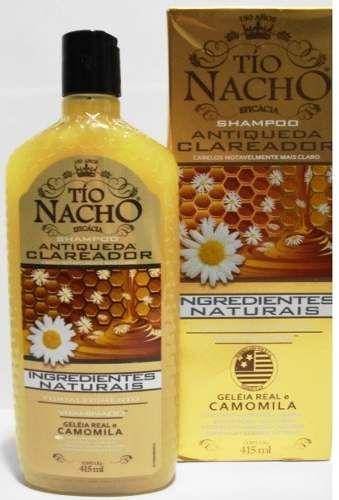 Resenha : Shampoo Tio Nacho Clareador - Paula Santana