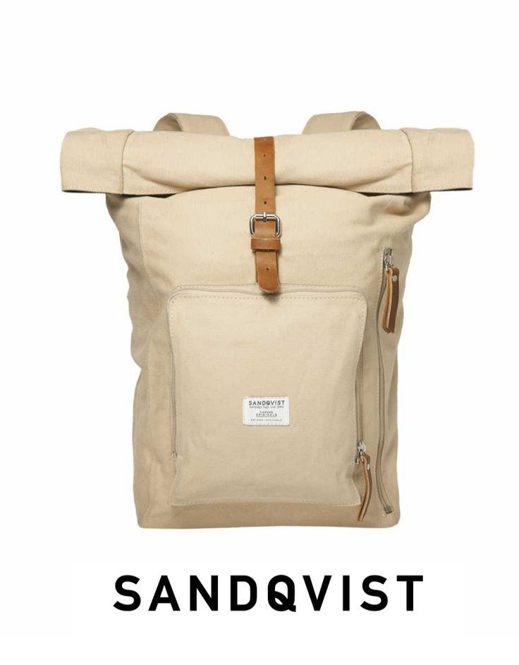 SANDQVIST Jerry backpack in simple & clean lines from Sweden. #DistrictConceptStore where you meet the new trends in fashion accessories. Xar. Trikoupi 34-36, Ioannina. Authorized retailer of Sandqvist Backpacks in Greece.