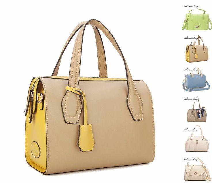 Damentaschen echt Leder Schultertaschen Handtaschen Bunt Taschen Jugend Style