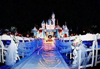 Disney Castle Wedding Theme Wedding Theme Pinterest