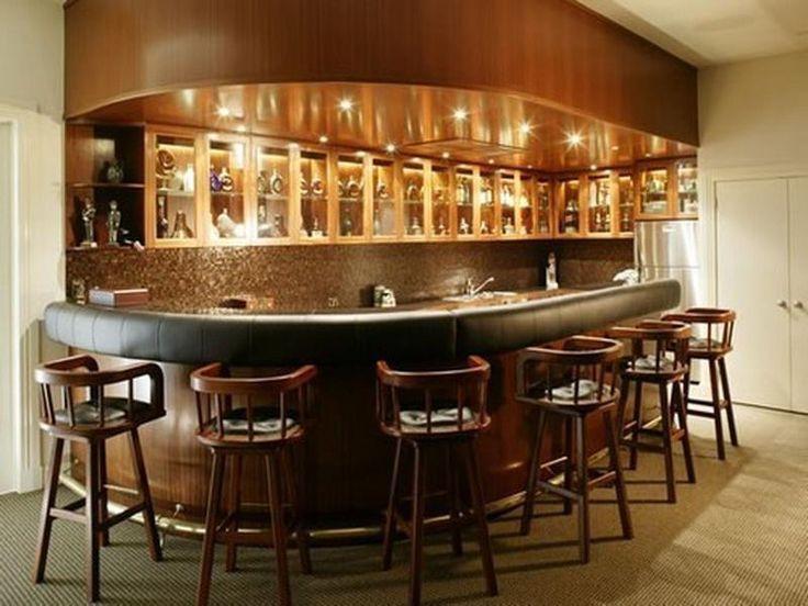Wine Bottle Walls Kitchen Bars Design