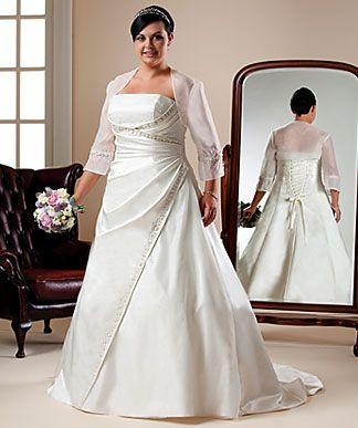 Plus Size Dresses Bride S Wedding Gown Ideas