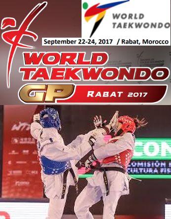 Το 2ο World Taekwondo Grand Prix series στο Rabat, Mαρόκο στις 22-24 Σεπτεμβρίου 2017