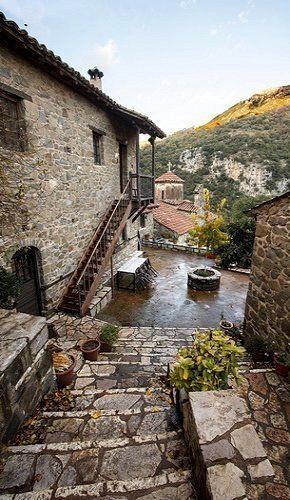 Monastery of Philosophos (10th century), Dimitsana, Arcadia, Greece | plf-travelphotos.com
