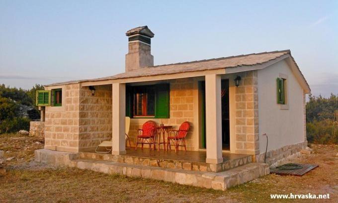 Dům Splitska - C2- Ostrov Brac