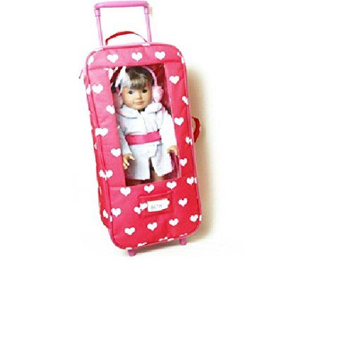 The New York Doll Collectin Doll Travel Case with Window- Doll Storage Bag - Fits American Girl Dolls - Great Gift Toy for Girls The New York Doll Collection http://www.amazon.com/dp/B00PKKZTWO/ref=cm_sw_r_pi_dp_cDc6vb0VG4XK4