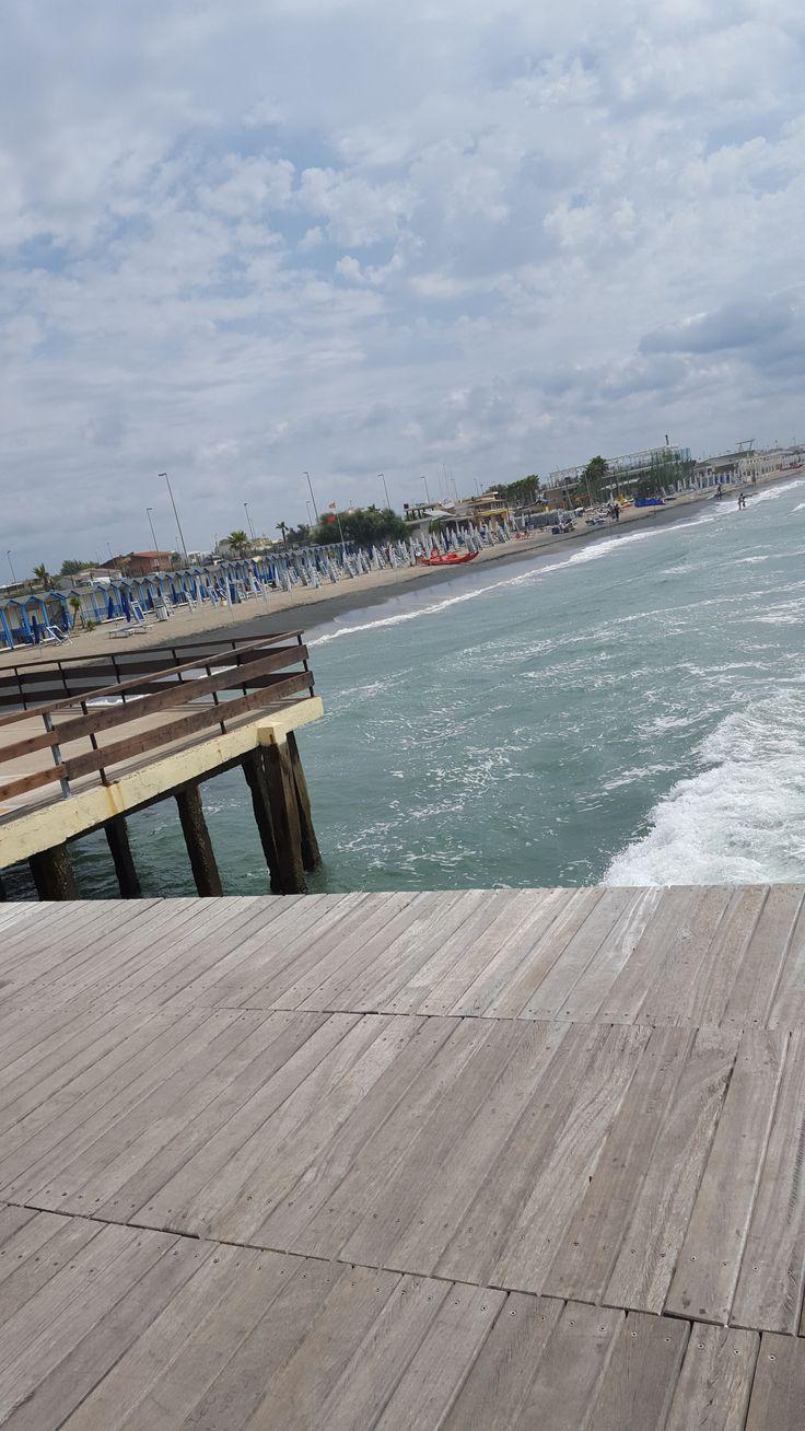 Ostia Beach - La Vecchia Pineta - August 24, 215 (picture taken by Laura Tolomei)