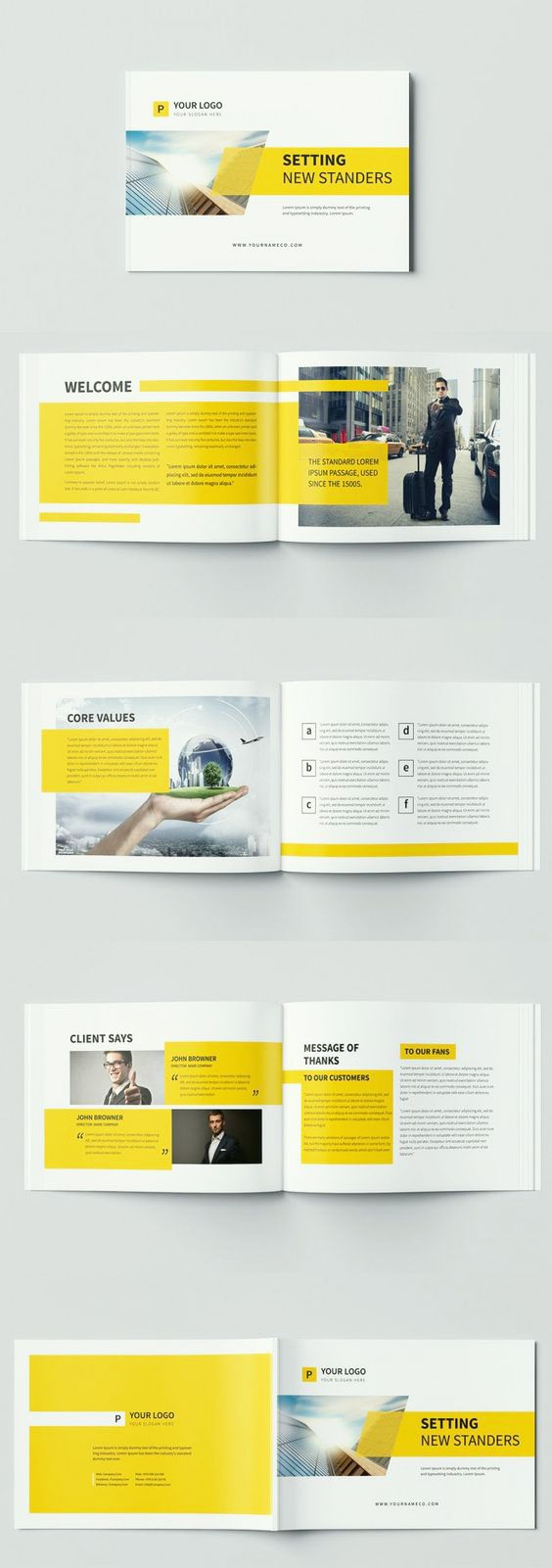 94 best brochure design template images on Pinterest | Brochure ...