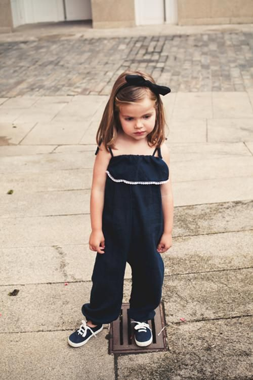 little black jumper, sneaks and a bow to top it off.  #designer #kids #fashion