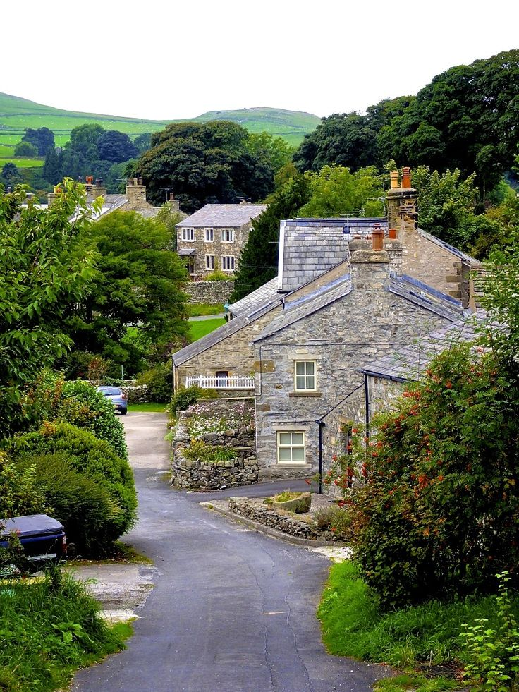 The beautiful streets inSettle, North Yorkshire - England