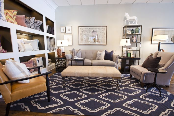 Draper and Marlena: Chocolates Rooms, Color, Families Rooms Kitchens, Charcoal Cubbies, Living Room Rugs, Living Rooms Rugs, Navy Blue Rugs, Large Area Rugs, Chairs Pairings