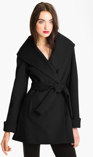Belted Wrap Coat....I want this one also, size 10 or Medium.....sooo cute!