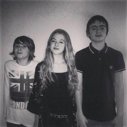 Gallagher kids - Gene, Anais & Lennon