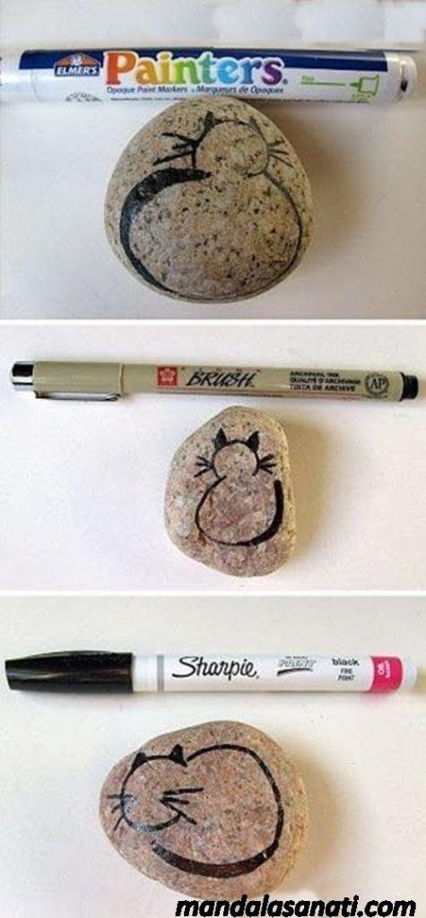Kedi nasıl çizilir kolay ve resimli