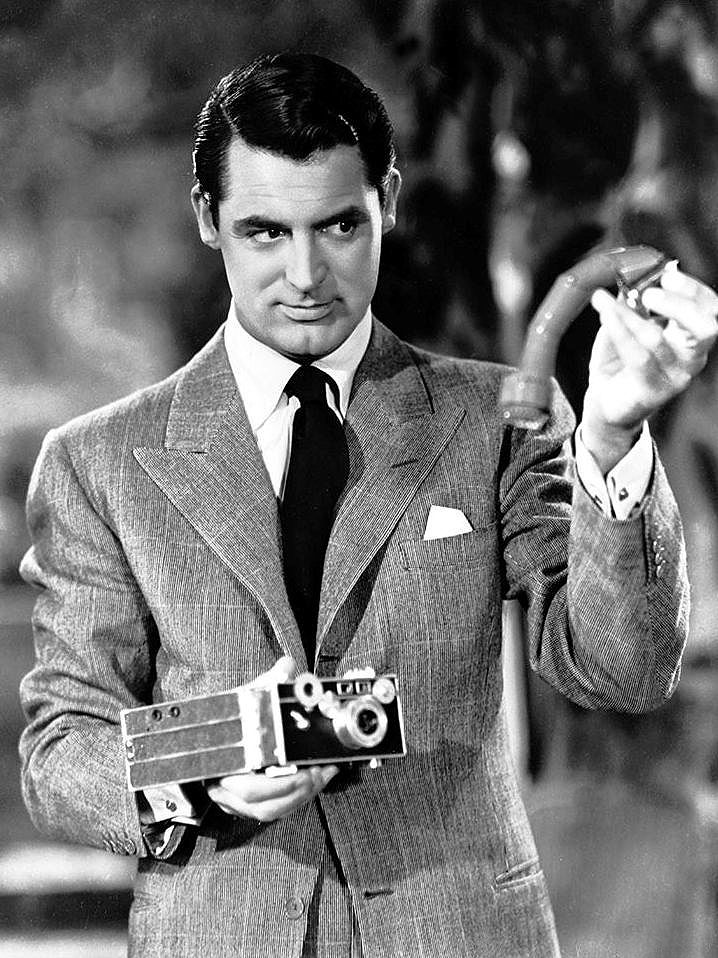 """Cary Grant in """"The Philadelphia Story""""..."""