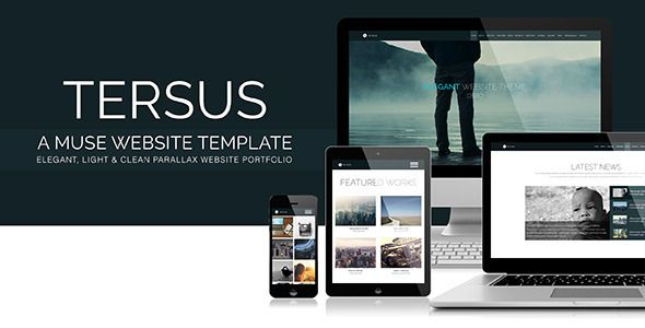 tersus is a light and clean muse website template  developed and decoded with the muse cc  the