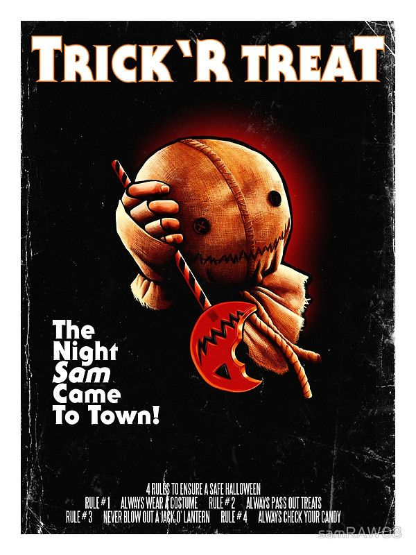 Trick 'r Treat Halloween Poster