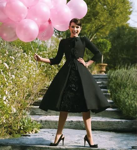 {Emma Roberts channeling Audrey Hepburn} delightful!
