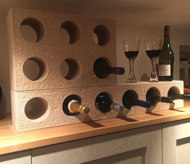 Andrew James hand carved stone wine racks  07966366816