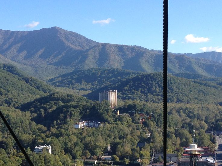 Top of the sky lift. Gatlinburg, TN