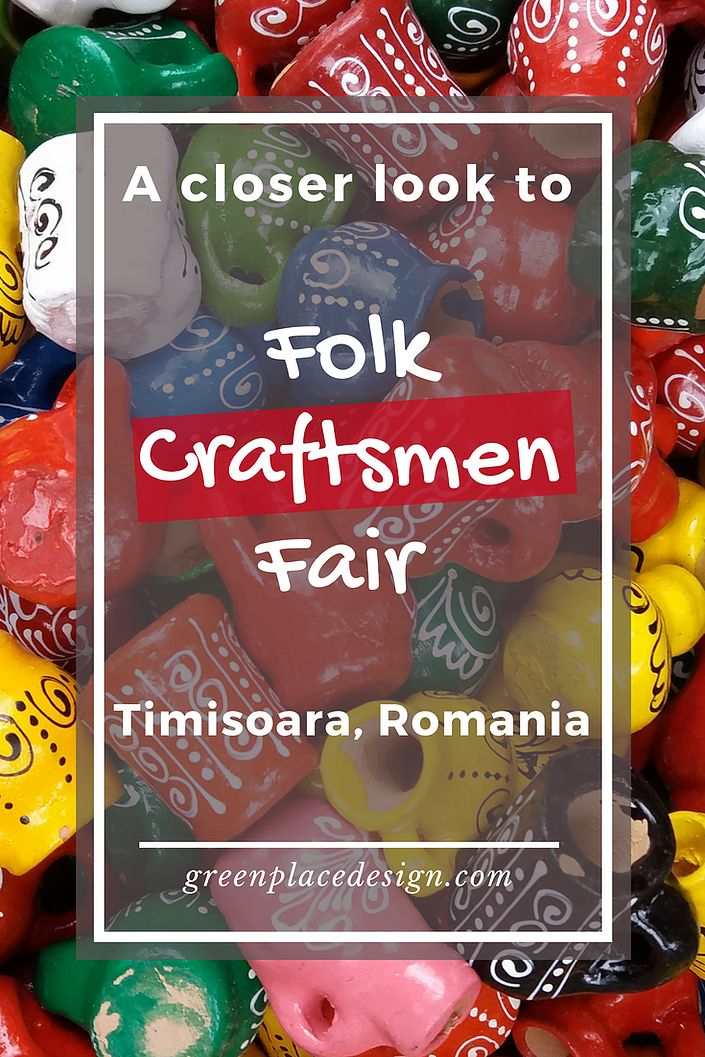 A closer look to the Folk Craftsmen Fair held in Timisoara, Romania | Green Place Design | Unique traditional objects for your home, such as wood carved decorations, clay pots and willow baskets. All handmade. Bringing a beautiful rustic touch to any house. Indoor and outdoor pieces. | #craftsmenfair #crafts #woodcraft #claypot #willowbasket #artisans #Timisoara #Romania #traditionalevent #decorations #rustic #traditional #indoor #outdoor #decor