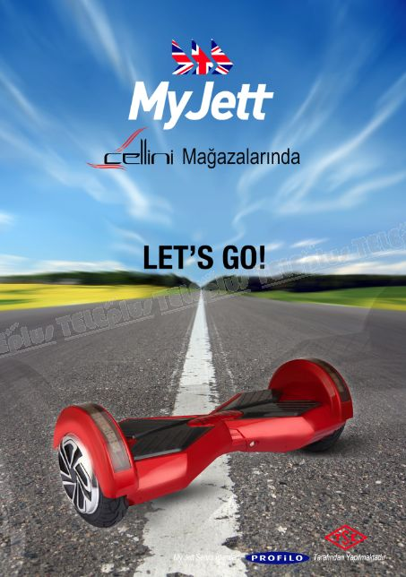 MYJETT HOVERBOARD / İKİ TEKERLİ MİNİ SCOOTER -  - Price : TL1,299.00. Buy now at http://www.teleplus.com.tr/index.php/myjett-hoverboard-iki-tekerli-mini-scooter.html