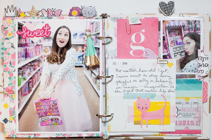 Cute Girl Mini Album | Crate Paper — Life As A Fairytale