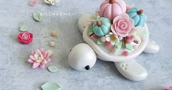 Update: Sold Close up at this pastel baby Which do you guys like more pastel colors or vibrant colors? I love pastels but lately I've been wanting to try create something more vibrant. Step out of my comfort zone . . . Floral pumpkin restock is TODAY Sunday November 12th 2p.m. EST http://ift.tt/2zCkfKU