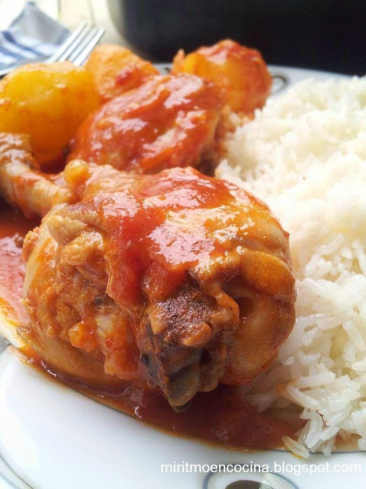 Mi ritmo en cocina ...: Sudado de pollo
