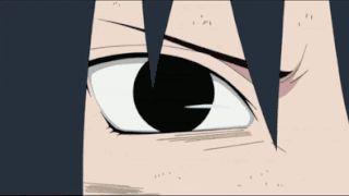 anime, naruto shippuden, uchiha sasuke, mangekyou sharingan, gif