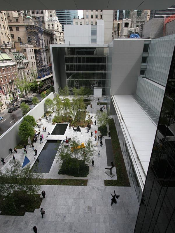 The MoMA sculpture garden. Whenever I'm in the city, even if it's just for an hour I HAVE to stop by the MoMA.