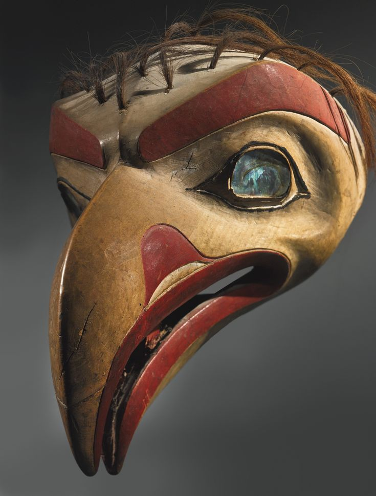 Tlingit Polychromed Wood Headdress | Lot | Sotheby's