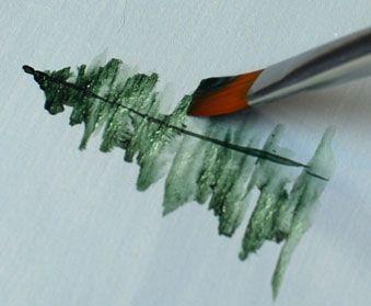 Möchten Sie lernen, wie man Bäume malt? Dieses sehr detaillierte Schritt-für-…