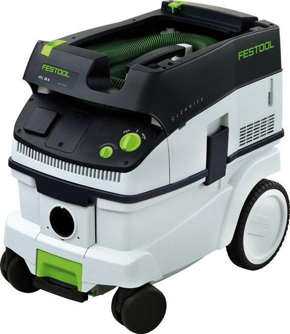 Festool's Mobile HEPA Dust Extractor CT 26 E, Item 583492, is designed to work with Festool tools and maximize cleanup.  | Quality Tools & Accessories
