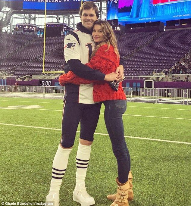 'Family and Football': Tom Brady and wife Gisele shared sweet snaps on the field ahead of ...