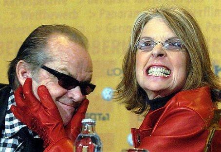 Jack Nicholson and Diane Keaton