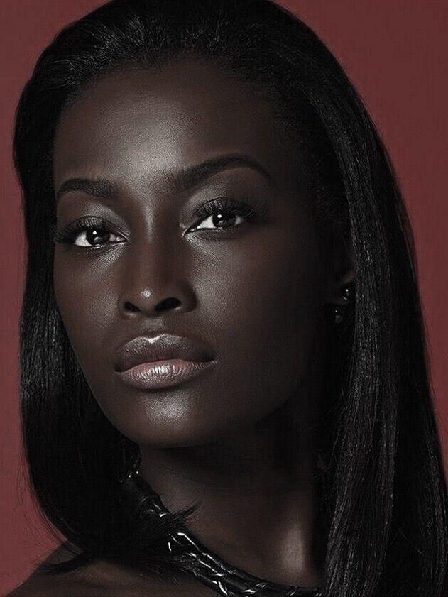 Ebony person
