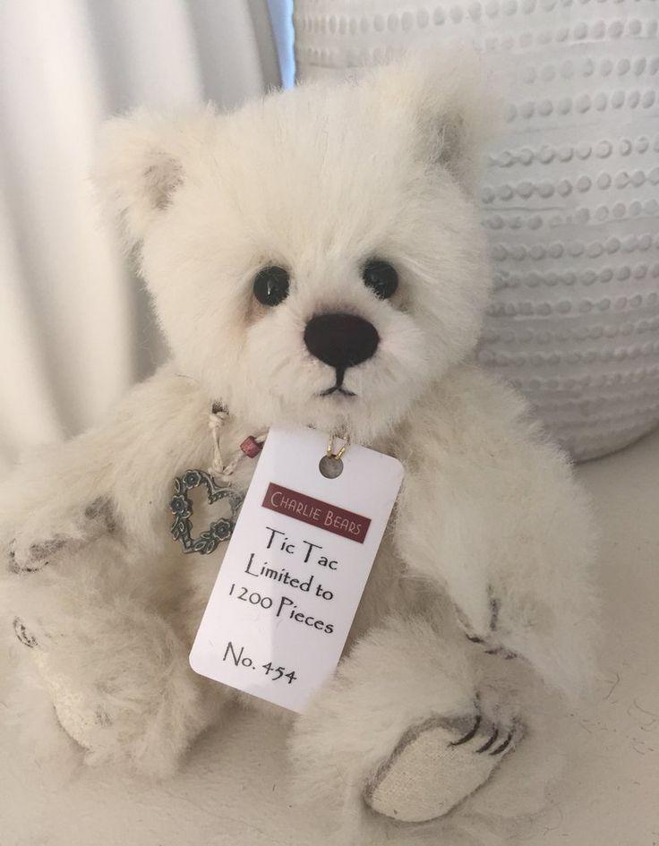 Tic Tac Minimo Mohair Teddy Bear