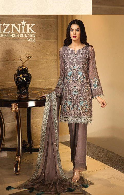 4cdc8bd734 Shree Fab Iznik Embroidered Collection Vol-2 (7 Pc Set) | Pakistani ...