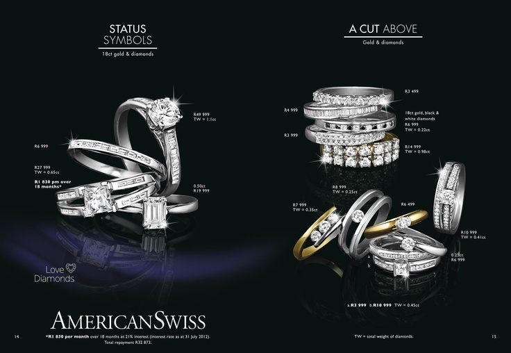American Swiss Wedding Rings Catalogue Wedding