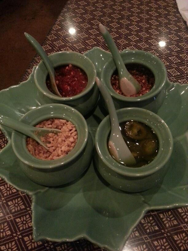 Spice rack at ayothaya thai in orlando foodie food for Ayothaya thai cuisine orlando fl