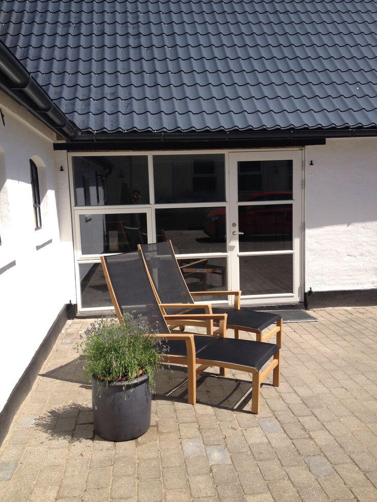 Gårdhave, outdoor, Mixt lounger, #garden furniture, #Lifeform.dk