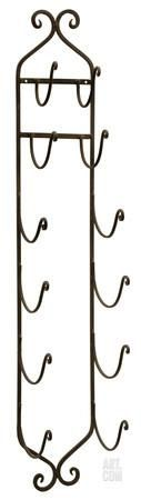 To hold rolled towels in bathroom. Wrought Iron Wall Wine Rack Home Accessories at Art.com