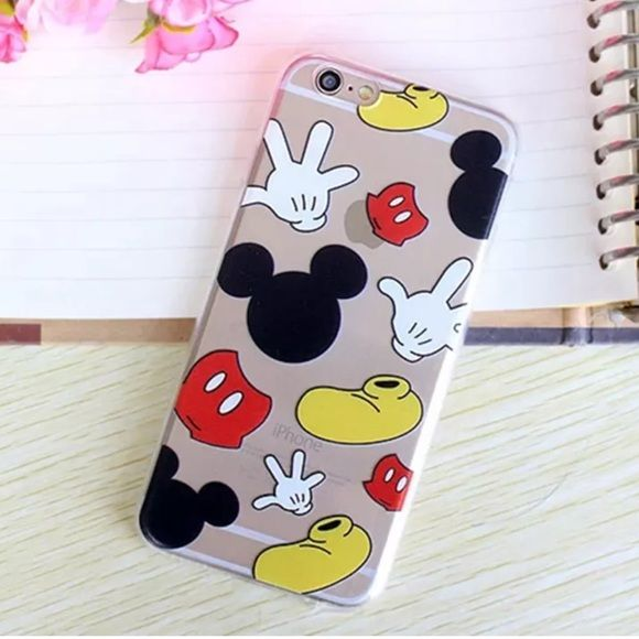 Disney IPHONE 6 PLUS CASE New Mickey Mouse Disney IPhone 6 Plus case cover. Really cute to put on your phone. Protects from scratches and damage. Fast shipping. Bundle and save more. Thank you.❤️ Disney Accessories Phone Cases