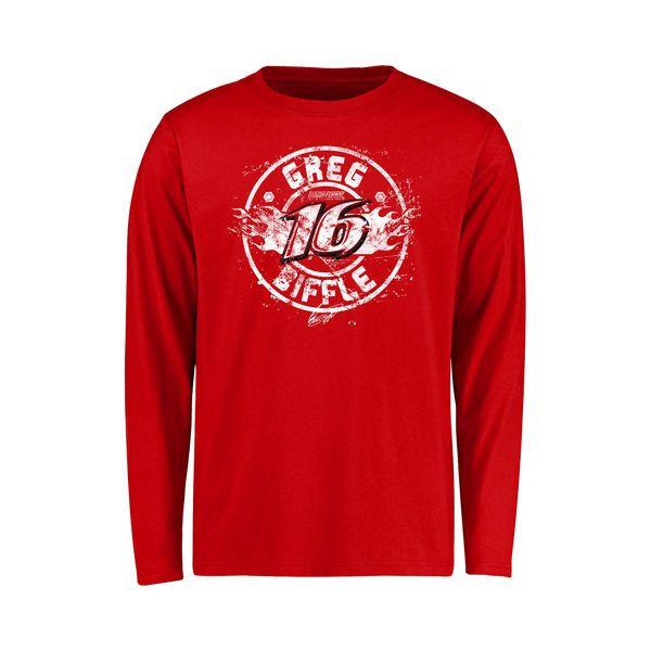 Greg Biffle Youth Flamberge Long Sleeve T-Shirt - Red - $21.99